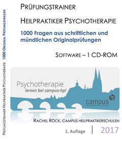 Heilpraktiker Psychotherapie 2017 - CD-ROM Version